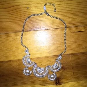 Silver Guess Necklace